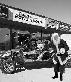 Salina Powersports Arctic Cat Wildcat 4 Santa Merry Christmas