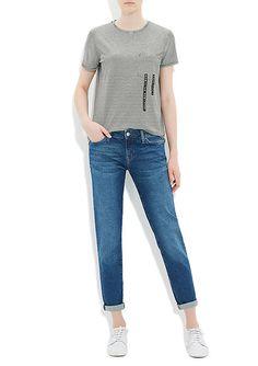 Ada Derin Mavi 90s Vintage Jean Pantolon | Kadın | Mavi