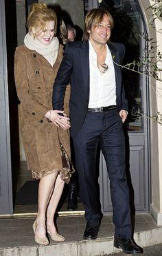 Nicole Kidman and Keith Urban in Sydney, Australia on June 19, 2012.
