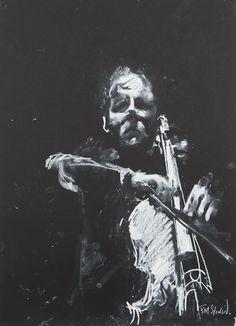 Junction Art Gallery - Tim Steward 'The Cellist' www.junctionartgallery.co.uk/exhibitions/future