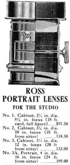 Ross Portrait Lens 1907