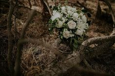 Rustic wedding bouquet ❤