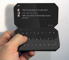 Smartphone Booklet, futuristic design concept - The American Genius