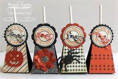 First I made four Lollipop Treats using the stamp and die set and a ...