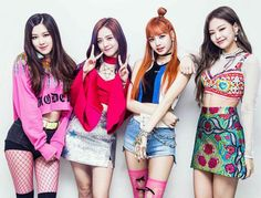 BLΛƆKPIИK Rosé • Jennie • Jisoo • Lisa
