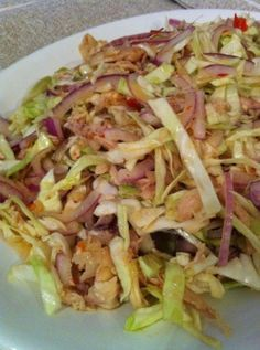 Goi Ga- Chicken Cabbage Salad. Vietnamese. You will love this long time.