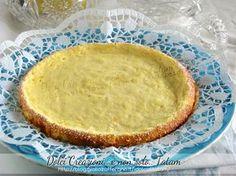 torta ricotta al limone senza farina