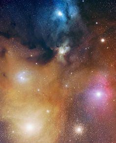 """""""Rho Ophiuchi Nebula"""""""