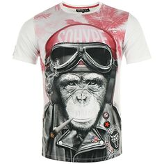 Tee Shirt So Hype Kong Casque Rose Blanc - LaBoutiqueOfficielle.com