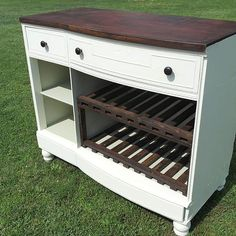 30 Best Ideas For Kitchen Island Diy Dresser Bar Refurbished Furniture, Bar Furniture, Repurposed Furniture, Furniture Projects, Furniture Makeover, Home Projects, Painted Furniture, Cheap Furniture, Dresser Repurposed