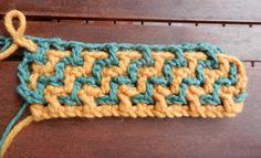 Interlocking crochet; requires translation.