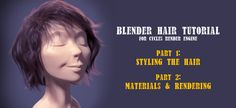 Rico writes: Hi all blenderheads out there! I'd like to present a 2 part hair styling and rendering tutorial I made for blender/cycles, as I've been getting quite a few requests about it lately. I hope you find it informative. :) Part 1: Part 2: Related