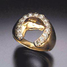 Elvis Presley's First Horseshoe Ring.