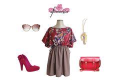 Une crevette pour rappeler les vacances ,  un cartable pour affronter la rentrée,  et la paire de lunette parce qu' il reste encore du soleil !!!!  La robe caravane c'est l'été aux couleurs de l'automne.  http://www.afleurdorgies.fr/product/caravane