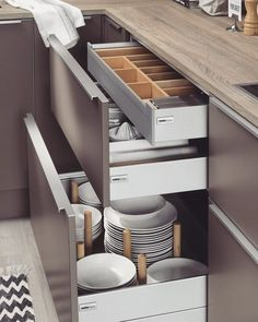 """Outstanding """"kitchen ideas modern"""" information is available on our web pages. Check it out and you wont be sorry you did. Small Space Kitchen, Kitchen Sets, Kitchen On A Budget, Kitchen Cupboards, Kitchen Decor, Kitchen Drawer Organization, Diy Kitchen Storage, Drawer Design, Cabinet Design"""