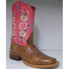 Macie Bean Kids' Boot $119.99 Honey Bunch with Rose Lizard Print TopFoot: Honey Bunch Brown LeatherTop: 10 Inch Rose Lizard Print with Floral EmbroideryToe: DB Square ToeHeel: 1.5 Inch Block HeelInsole: Regular InsoleOutsole: LeatherMacie Bean style