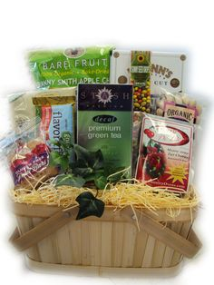 Heart Health Sampler Basket Mother's Day Gift Baskets, Basket Gift, Healthy Cookies, Healthy