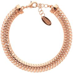 Finesse Small Fine Mesh Chain Bracelet, Rose Gold ($25) ❤ liked on Polyvore featuring jewelry, bracelets, rose gold jewellery, pink gold jewelry, rose gold bangle, red gold jewelry and chains jewelry