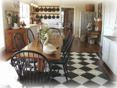 The Country Farm Home: Welcome to My Kitchens
