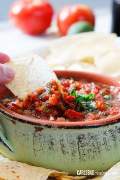 This Homemade Salsa Recipe is made in your blender, on your table in 5 MINUTES and tastes better than your favorite restaurant or jar! Homemade Salsa Recipe that tastes better than any restaurant or store-bought?!!!  YES!  You will never want to buy salsa again!   This Easy Salsa recipe allows you to customize the heat, the consistency,... Read More »