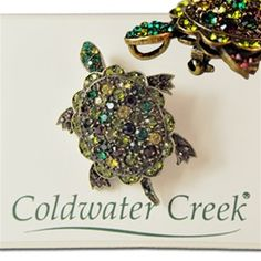 Why do I like this? Oh right!  It's a turtle charm - wholesale for resale - lots of the Newest Coldwater Creek