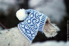 Одежда для собак, ручной работы. Ярмарка Мастеров - ручная работа. Купить шапка для собаки. Handmade. Разноцветный, шапка для собаки