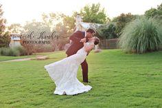 Dean & Courtney's Wedding at the Granbury Inn in Granbury, Texas.