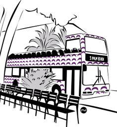 Le bus à impériale à Cannes est un bus à ciel ouvert qui vous permet de visiter toute la ville en toute simplicité et qui plaira à toute la famille.