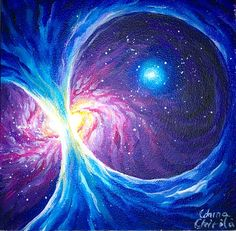 Galactic magnetic field , space painting