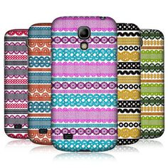 HEAD CASE STRIPES OF LACES HARD BACK CASE FOR SAMSUNG GALAXY S4 MINI I9190 I9192; neither one of the pink ones