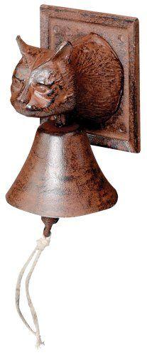 Amazon.com: Esschert Design Doorbell Cat: Patio, Lawn & Garden