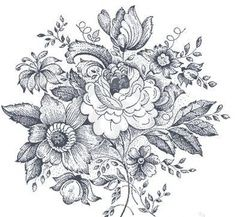 vintage floral tattoo - Google Search