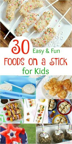 There is something about miniature cut up food on a stick that makes it fun and yummy. Make your kids smile with these easy foods on a stick for kids? Pork Recipes, Snack Recipes, Yummy Recipes, Kid Recipes, Amazing Recipes, Shrimp Recipes, Family Recipes, Healthy Recipes, Slow Cooked Pulled Pork