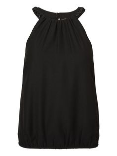 Black party top from VERO MODA. Get ready for the party season!
