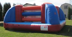 Bouncy Boxing from Phantom Entertainment Moon Bounce, Mechanical Bull, Boxing, Things That Bounce, Baby Car Seats, Entertainment, Park, Children, Young Children