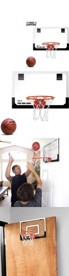 Other Indoor Games 36278: Mini Basketball Hoop System Indoor Office Door Wall Kids Adults Boys Sklz Pro -> BUY IT NOW ONLY: $38.02 on eBay!