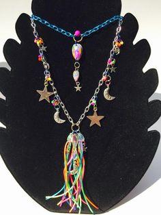 Cosmic Rainbow Tassel Necklace – Honey Jayne