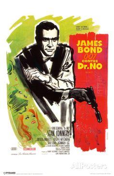 James Bond - Dr No - French Masterprint at AllPosters.com