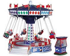 Lemax Cosmic Swing Ride