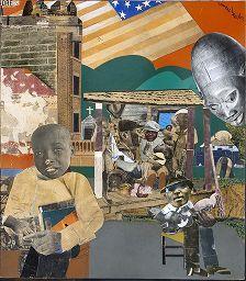 Romare Bearden, Soul History, 1969  |  Harvard Art Museums/Fogg Museum My husbands favorite Print