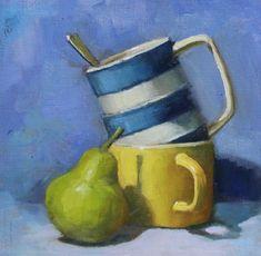 Cornishware, Paintings, Fine Art, Paint, Painting Art, Painting, Painted Canvas, Visual Arts, Drawings