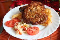 Marináda na vepřové kotlety Pierogi, Pork, Meat, Recipes, Kale Stir Fry, Recipies, Ripped Recipes, Pork Chops, Cooking Recipes