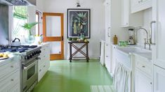 10 Unexpected Ways to Bring Color Into Your Kitchen - Coastal Living
