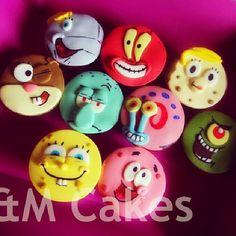Bob Esponja Cupcakes                                                                                                                                                                                 More