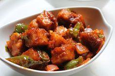 YUMMY TUMMY: Restaurant Style Chilli Paneer Recipe / Chilli Paneer Dry Recipe