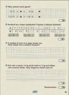Fotó: Paper Decorations, Grade 1, Mathematics, Worksheets, Periodic Table, Sheet Music, Archive, Album, Teaching