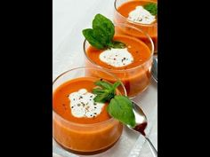 Looking for a yummy and healthy tomato soup recipe? We've listed some amazing tomato soup recipes by Sanjeev Kapoor which taste amazing and are equally healthy. Healthy Tomato Soup Recipe, Healthy Soup Vegetarian, Tomato Soup Recipes, Gazpacho, Fall Recipes, Indian Food Recipes, Indian Foods, Shorba Recipe, Easy Cooking