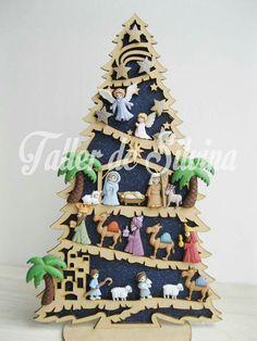 Christmas Arch, Christmas Jesus, Christmas Nativity Scene, Christmas Ornament Crafts, Christmas Makes, Christmas Villages, All Things Christmas, Holiday Crafts, Christmas Time