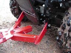 Homemade ATV Plow - YouTube