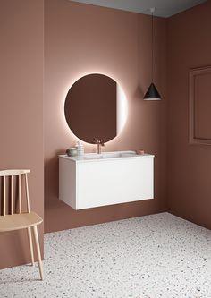 Form 90 cm i hvit utførelse Bathroom Inspo, House Design, Interior, Furniture, Home Decor, Instagram Feed, Mezzanine, Modern, Marble